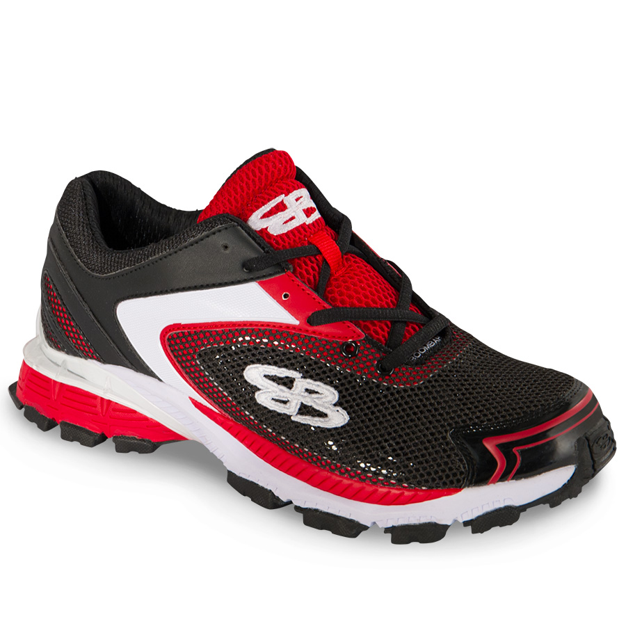 Men's Turf Shoes Turf shoes make the most of modern footwear technology to push harder, innovate faster, and provide athletes with the perfect piece of equipment for their feet. By incorporating stability, support, and comfort into every aspect of our design, our engineers here at Boombah have come up with the perfect solution for your baseball, soccer, and other turf needs.