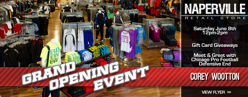Naperville Retail Store Now Open